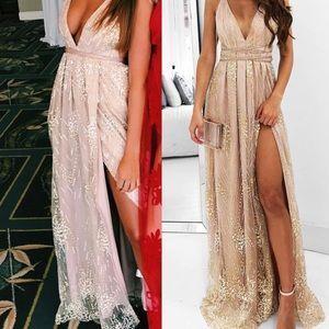 Showpo NY Nights Maxi Dress